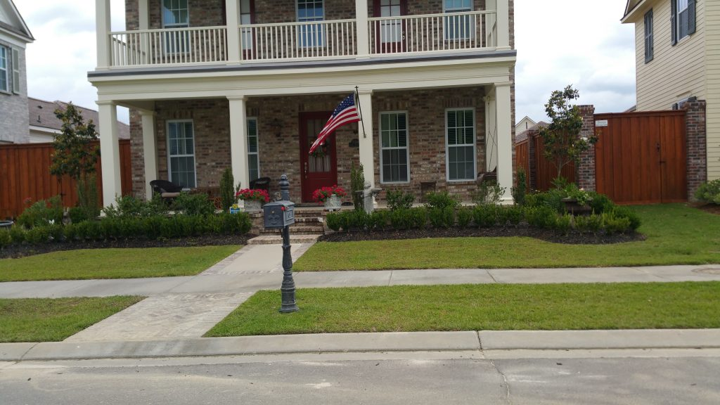 Landscape Installation Services in Baton Rouge